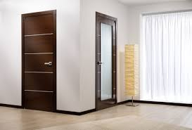 modern wooden doors remarkable design solid wood core covered with a natural wood veneer finish glass