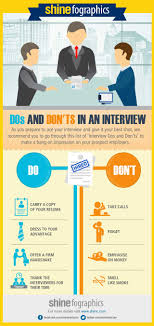 The Do S And Don Ts Of An Interview Dos And Donts In An Interview Infographics Shine Com