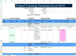Project Management In Access Download Excel Spreadsheet Templates For Tracking Ms