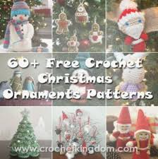 Christmas Ornament Patterns Stunning 48 Amazing Free Crochet Christmas Ornaments To Make