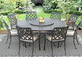 cast aluminum patio sets outdoor coffee table clearance set costco canada