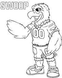 Seattle Seahawks Coloring Pages Printable Coloring Pages Coloring