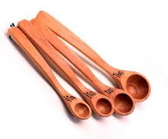 long handle wood measuring spoons demarris phillips