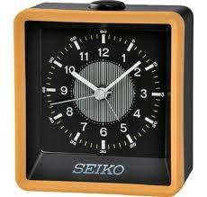 qhe099y new seiko battery powered alarm clock