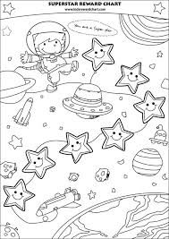 star charts for kids free printable charts