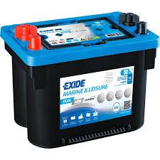 Exide Automotive Battery Application Chart 12v Exide Ep450 50ah Dual Agm Battery Maxxima Max900dc