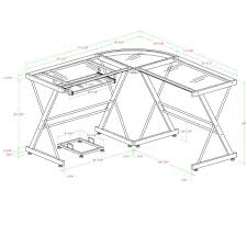 walker edison 3 piece corner desk