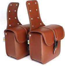 product images gallery generic motorcycle saddlebags saddle bags brown