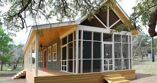 texas hill country cottages. Wonderful Country This Texas Hill Country Cottage By Kanga Room Systems Is A 480 Sq Ft Studio  With Loft Bedroom Plus 432 Of Porches  WwwfacebookcomSmallHouseBliss Throughout Cottages
