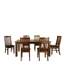 dining table chairs auckland. moe dining table 1.8m set 7 piece - double star furniture chairs auckland