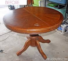 how to paint a dining room table u0026 chairs makeover reveal on diy round
