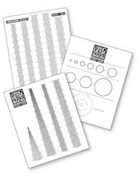 Uranometria Optional Acetate Grid Field Of View And Telrad Finder Scales Set Of 3