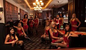 """Inside the Scantily-Clad Casino """"Party Pits"""" of Las Vegas - Maxim"""