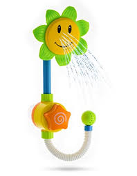 advanced play best baby bath toys for toddlers fun interactive sunflower shower water bathtub toys for kids children babies girls boys