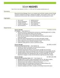 resume objectives for managers impactful professional management resume examples resources