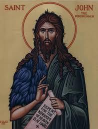 st john the baptist the forerunner of christ