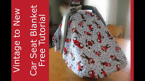 infant car seat cover pattern fitted