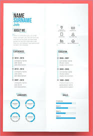 Cool Resumes Templates Fascinating Best Free Creative Resume Templates Download Fancy Word Linkthingco