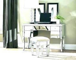 mirrored vanity furniture. Mirrored Desk Vanity With Mirror Attached Best Furniture O