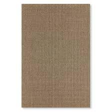 faux natural basketweave indoor outdoor rug 6x9 chestnut grain
