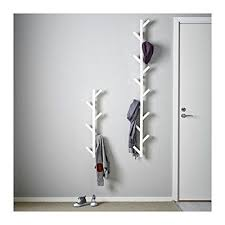 Tjusig Coat Rack Fascinating Ikea Tjusig Solid Wood Modern Wall Hanger Coat Hook White Kids