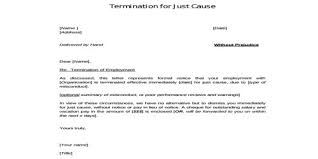 employee termination letter for