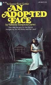 an adopted face gothic bookshorror booksromance novelsweird storiespulp art occultparanormalsupernaturalbook covers