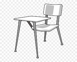 school chair drawing. Brilliant School Furniture School Desk Clip Art  Drawing In Chair