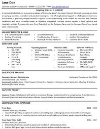 Sample Help Desk Support Resume Pin By Yvie Dallaird On Information Technology Student