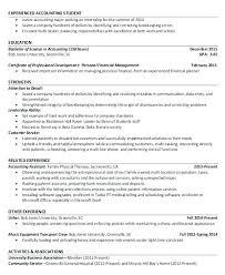 Accountant Resume Format Pdf Resume Template Sample