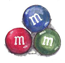 candy painting yummy m and ms by terry banderas