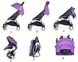 Baby Throne Mini Portable Stroller Purple Souq Uae