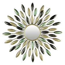 metal wall art mirror uk