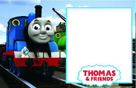 Train Birthday Invitation Train Party Invitation Template Thomas