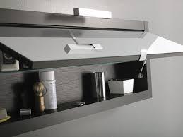 bathroom wall cabinet black