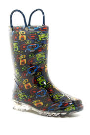 Western Chief Toddler Rain Boots Size Chart Western Chief Bot Party Light Up Waterproof Rain Boot Toddler Little Kid Nordstrom Rack