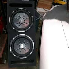 speakers in box. brand new never used 2 12° kicker speakers in box good to blast
