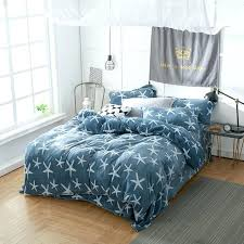 King Size Quilt Patterns Fascinating King Size Bed Quilts Fashion Starfish Warm Fluffy Flannel Fleece