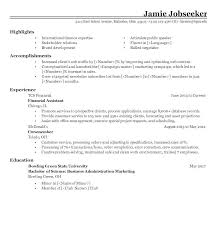 Example Of A Resume Sample Resume For Working Students Example 1