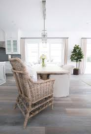 wicker dining chairs at each end of the table cote dining room wicker kitchen table and
