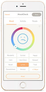 Activity And Mood Monitoring Chart Welltrack Interactive Self Help Therapy