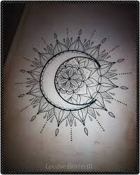 Sun And Moon Mandala Drawing Tumblr At Getdrawingscom Free For