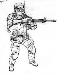 Small Picture Call Of Duty Black Ops Coloring Pages Sketch Page And