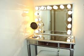 Where Can I Buy A Makeup Vanity Table With Lights Tribesigns Vanity Set With Lighted Mirror 10 Warm Led Bulb