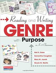 Amazon Com Reading And Writing Genre With Purpose In K 8