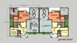 ... A Ments Bed Detached House Plans Bedroom Semi Plan Interior Uk Ground  Full Size P Full