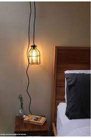 bedroom wall lamps with cords pendant light cord with wall plug and lampholder in
