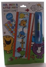 Little Miss Chart Mr Men Little Miss Height Chart