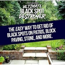 pro kleen ultimate black spot destroyer