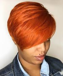 Charming short red hairstyles ideas Pixie Cuts Bright Orange Red Pixie Pinterest 60 Great Short Hairstyles For Black Women Therighthairstyles